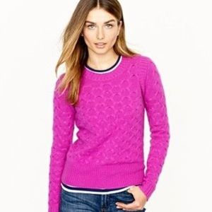J. Crew Sweaters - j.crew | honeycomb knit sweater.